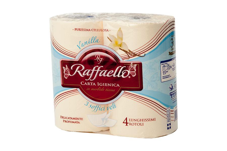Raffaello - Carta Igienica 4 rotoli - Terre du Desert