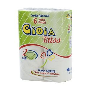 6 rotoli carta igienica community Gioia Tatoo