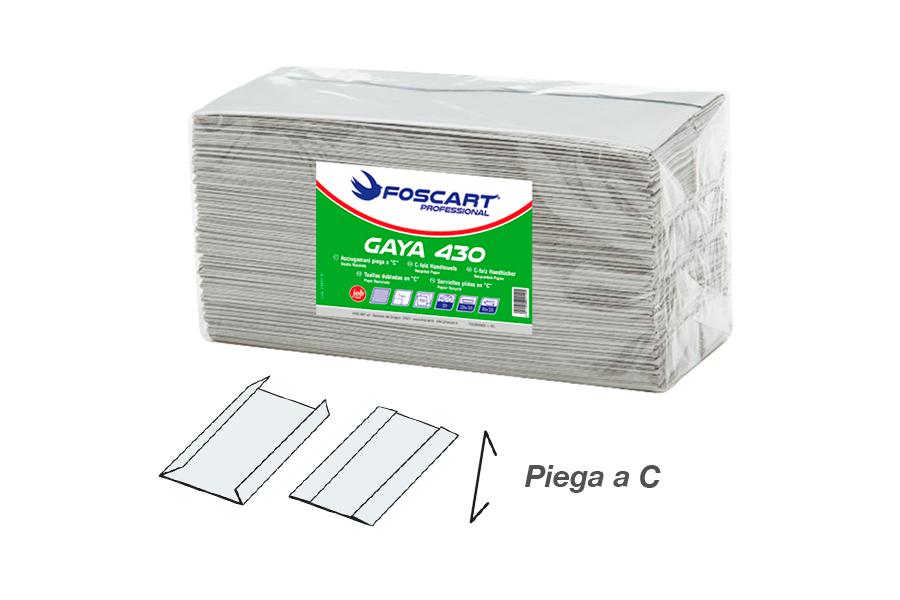 Asciugamano gaya 430 piega a c
